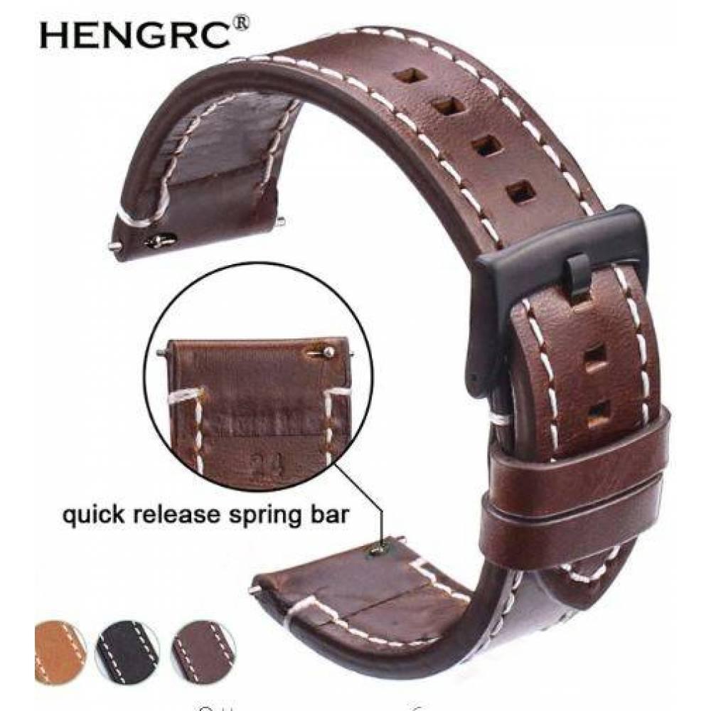 Ремешок HENGRC, коричневый  4407