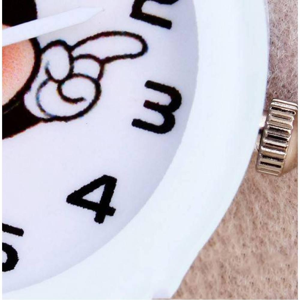 Детские Часы наручные Микки Маус, белые  4411