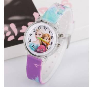 Детские Часы наручные Ледяное сердце  4492
