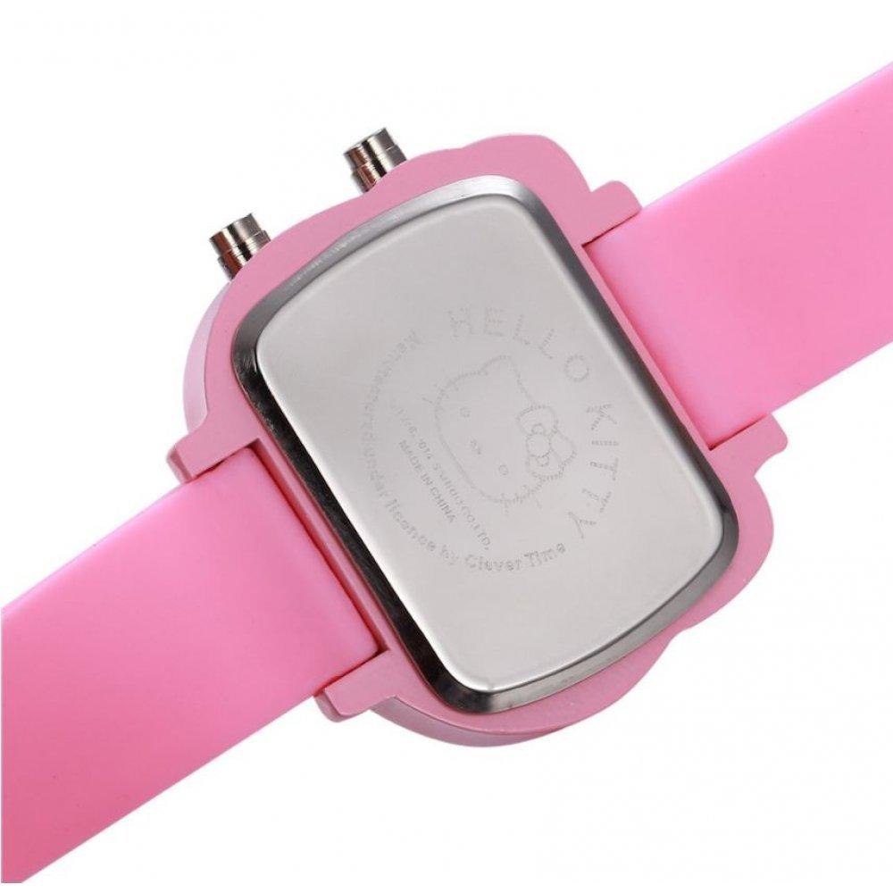 Детские Часы наручные Hello Kitty, белые  4499