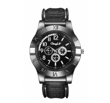 Часы наручные CkeyiN зажигалка, черные  4506