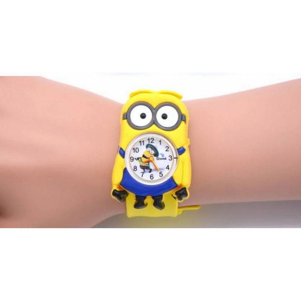 Детские Часы наручные Миньоны 4510