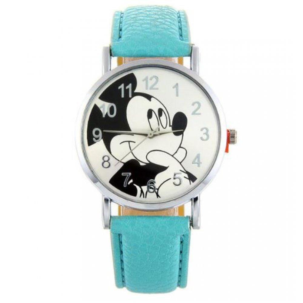 Детские Часы наручные Disney Микки Маус, голубые  4515