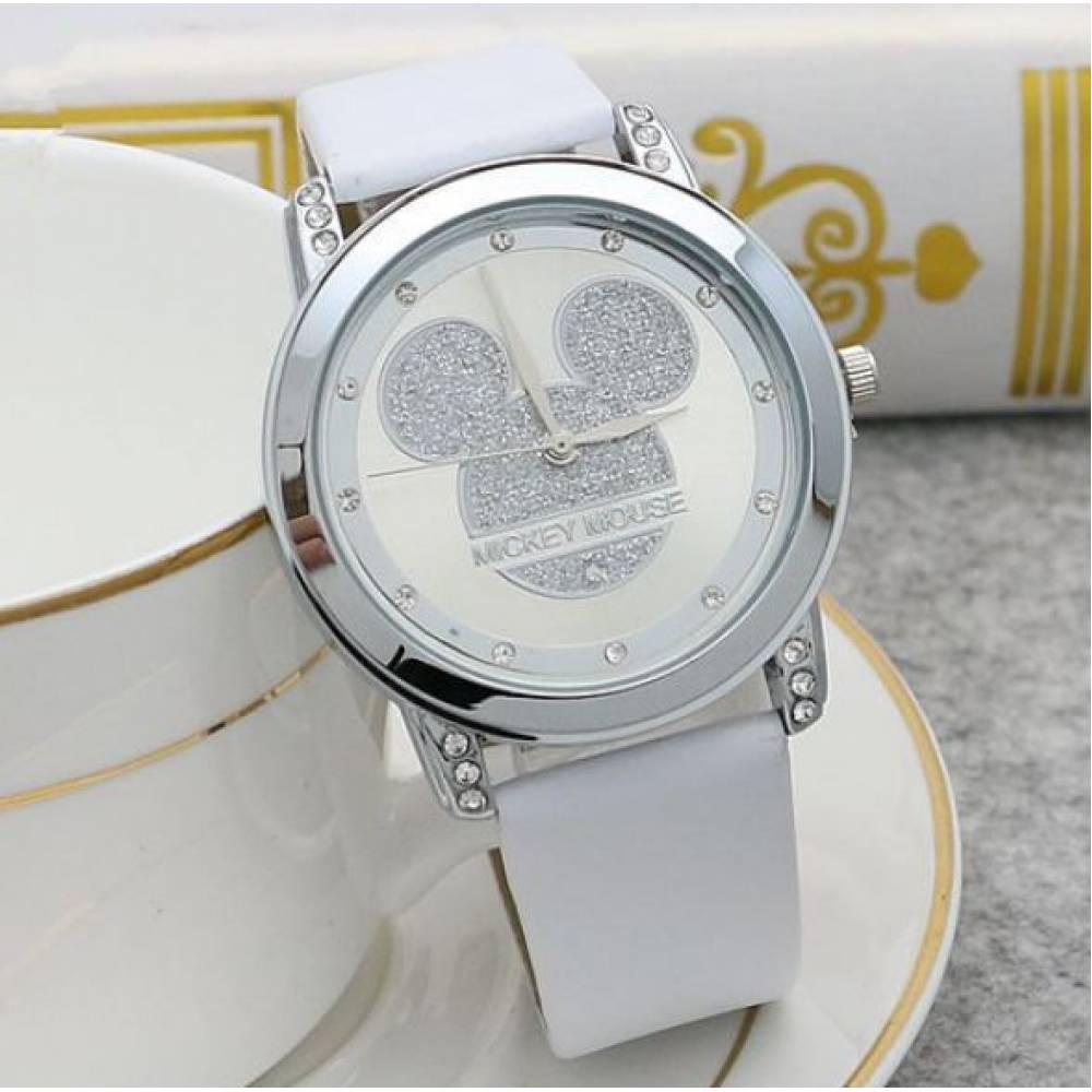 Детские Часы наручные Disney Микки Маус, белые  4518