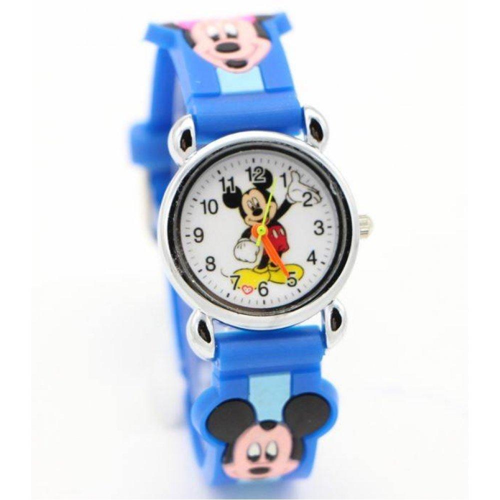 Детские Часы наручные Disney Микки Маус, синие  4556