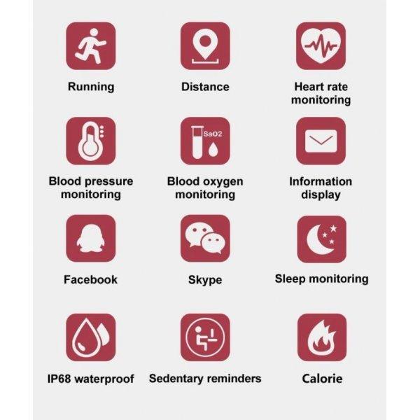 Фитнес браслет Vwar 4558
