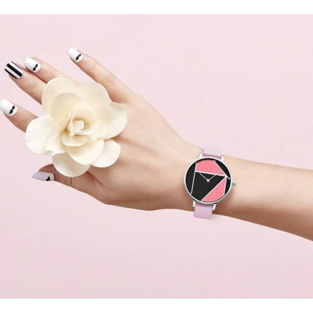 Женские Часы наручные SK, розовые 4575