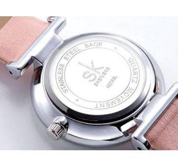 Женские Часы наручные SK, розовые  4579