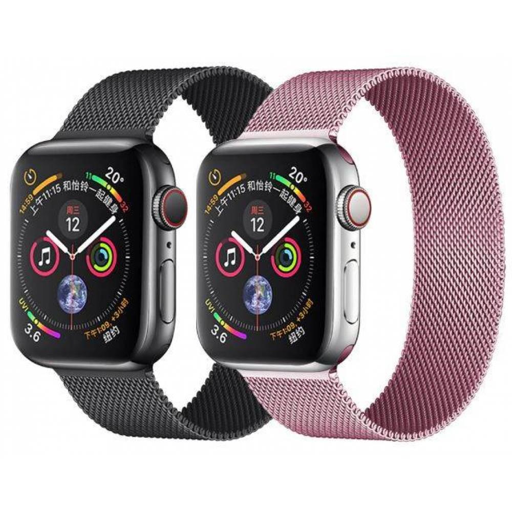 Ремешок для apple watch, черный 4598