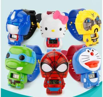 Детские Часы наручные Человек паук 4602