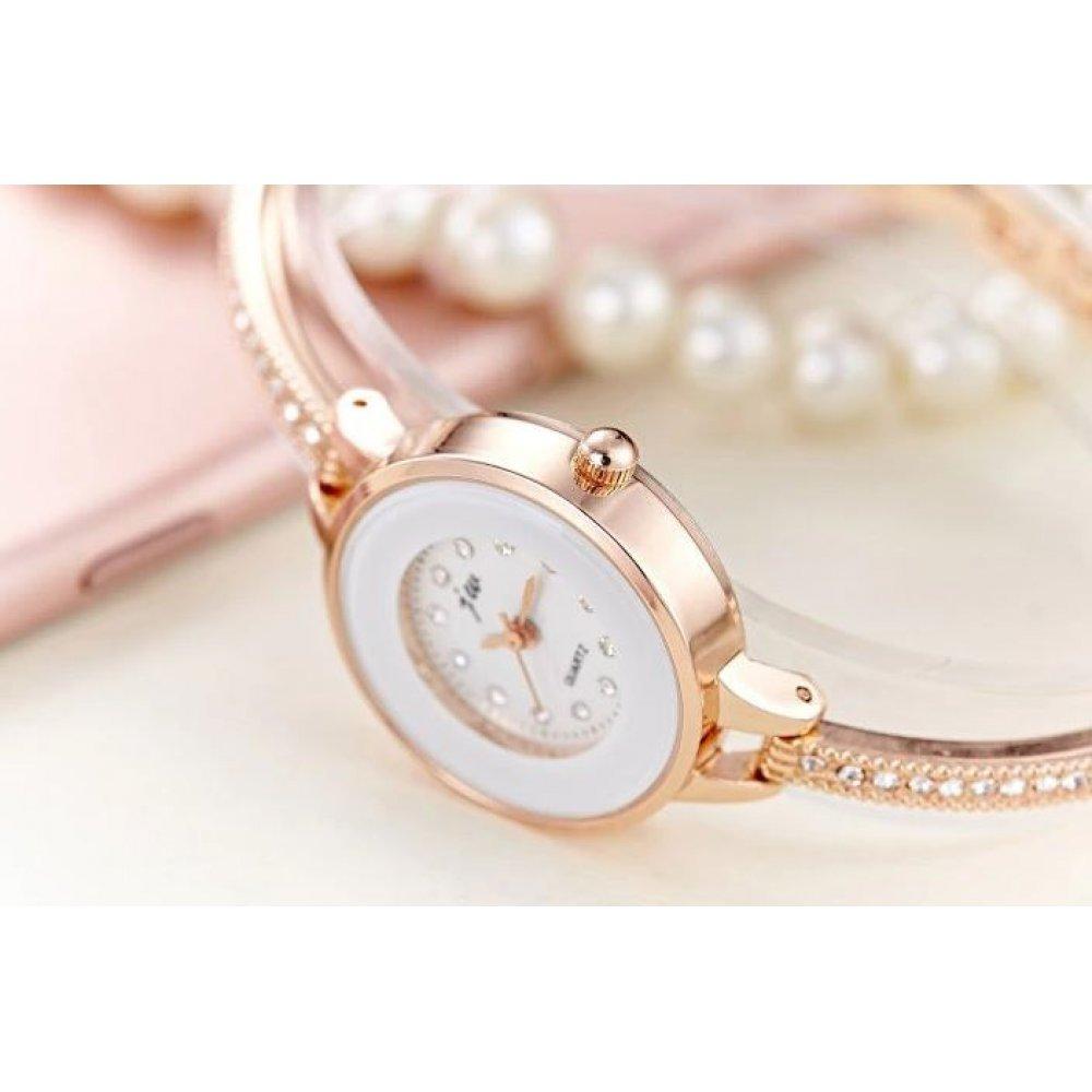 Женские Часы наручные JW, золотистые  4618