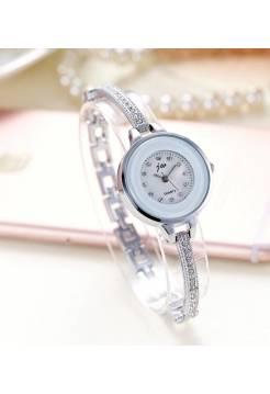Женские часы JW, серебристые
