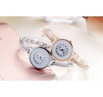 Женские Часы наручные JW, серебристые  4619