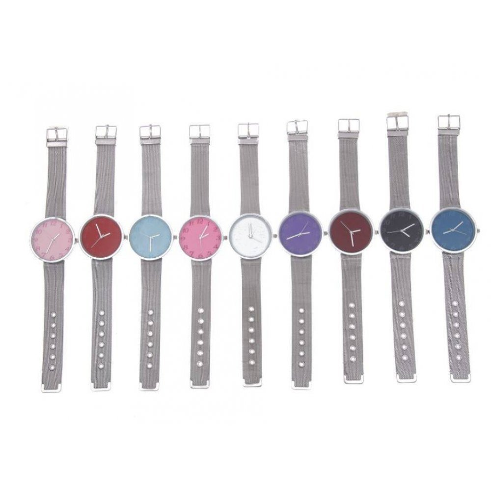 Женские Часы наручные JW, розовые  4620