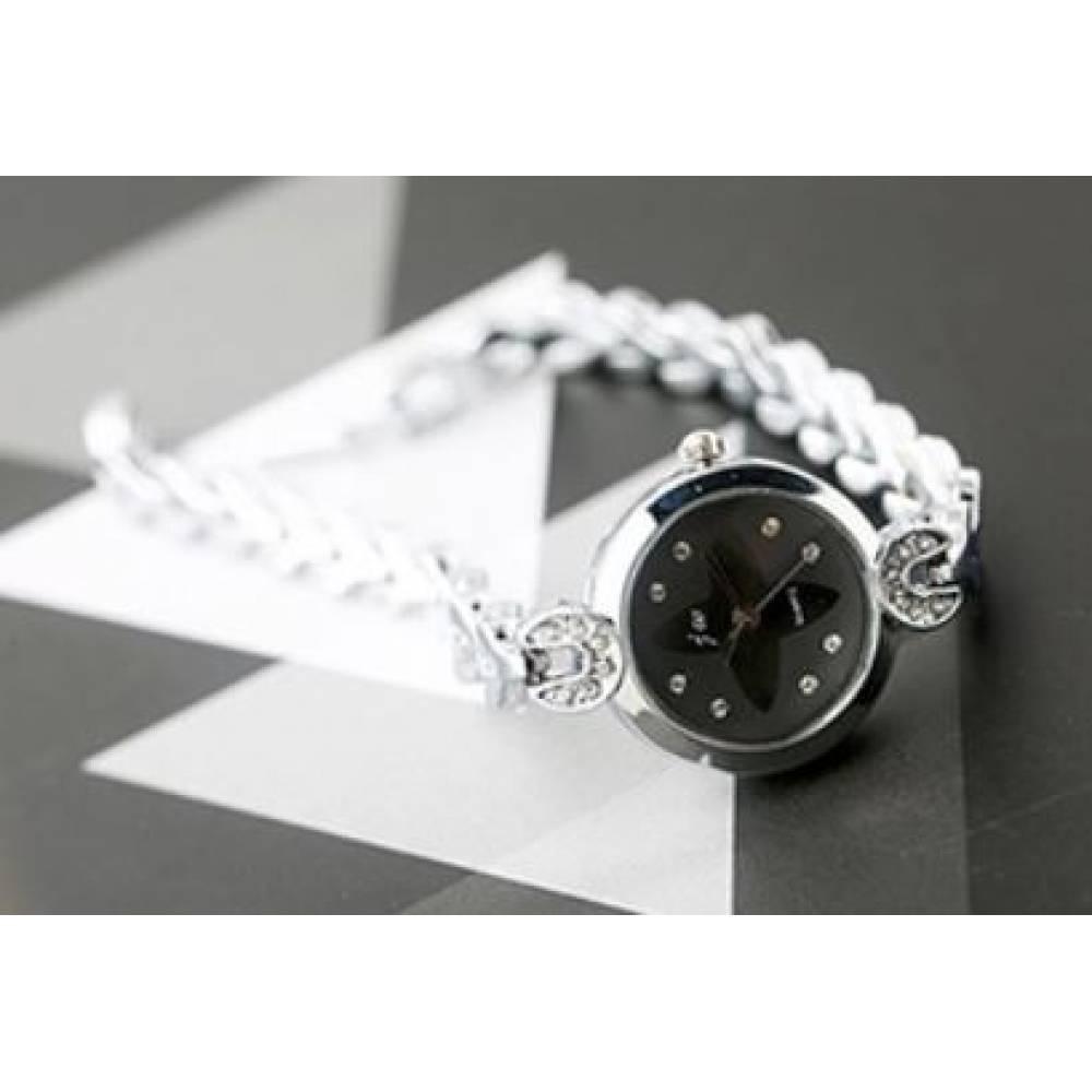 Женские Часы наручные JW, черные  4628