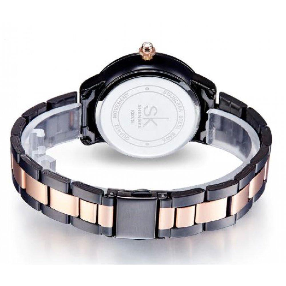 Женские Часы наручные SK, черные  4696