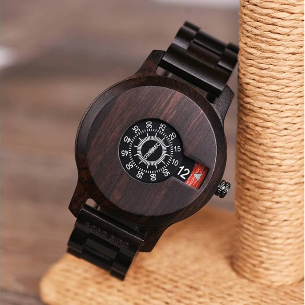 Часы наручные BB дерево 4786