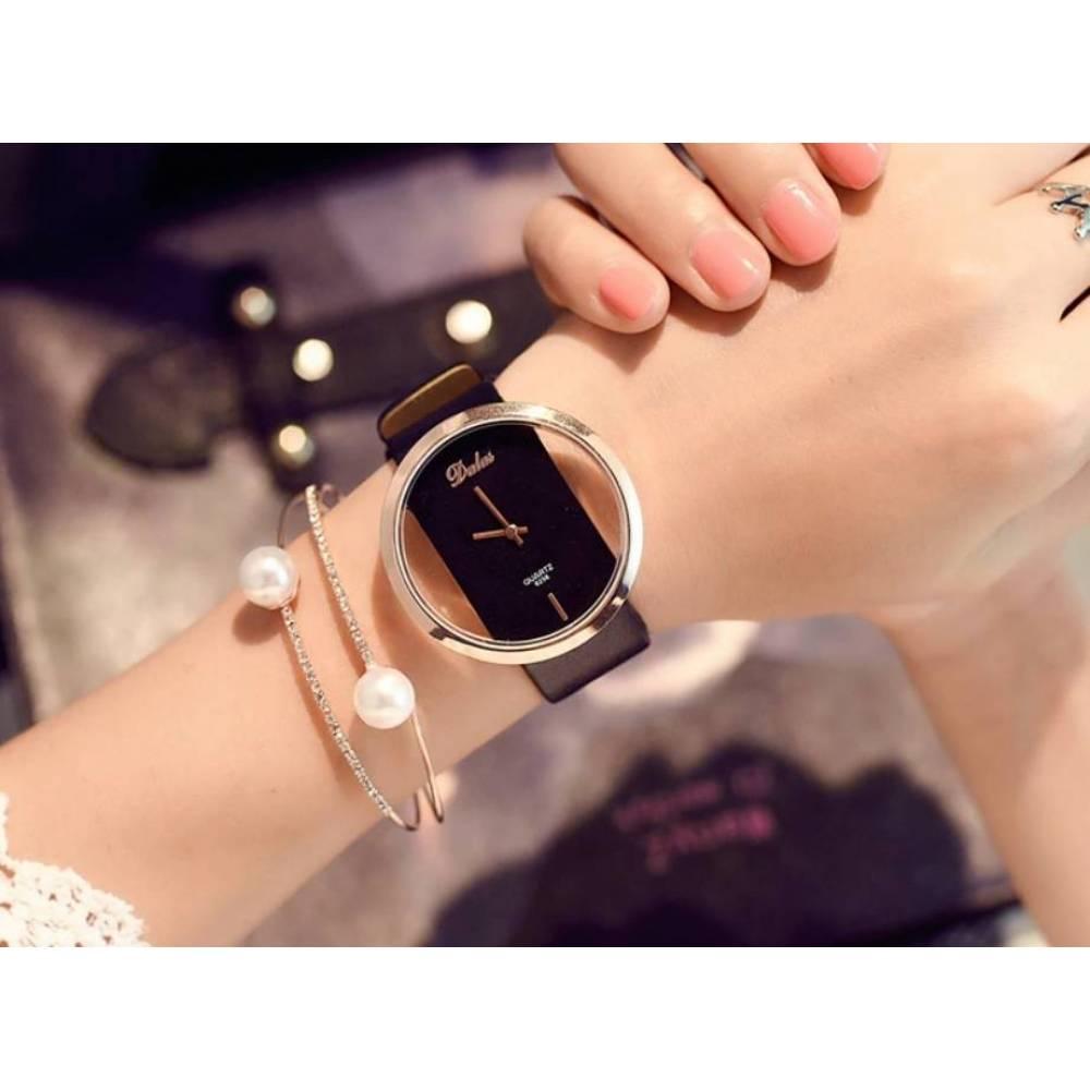 Женские Часы наручные JW, черные 4789