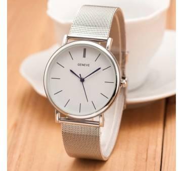 Женские Часы наручные Runerr, серебристые  4795