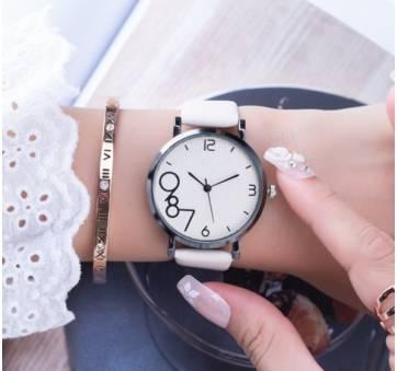 Женские Часы наручные Gogoey, белые  4800