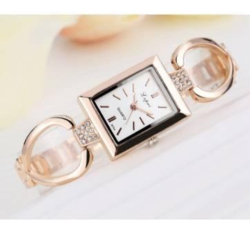 Женские Часы наручные LVPAI, золотистые 4891