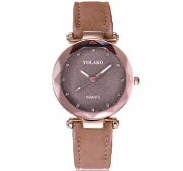 Женские Часы наручные Vansvar, коричневые 4895