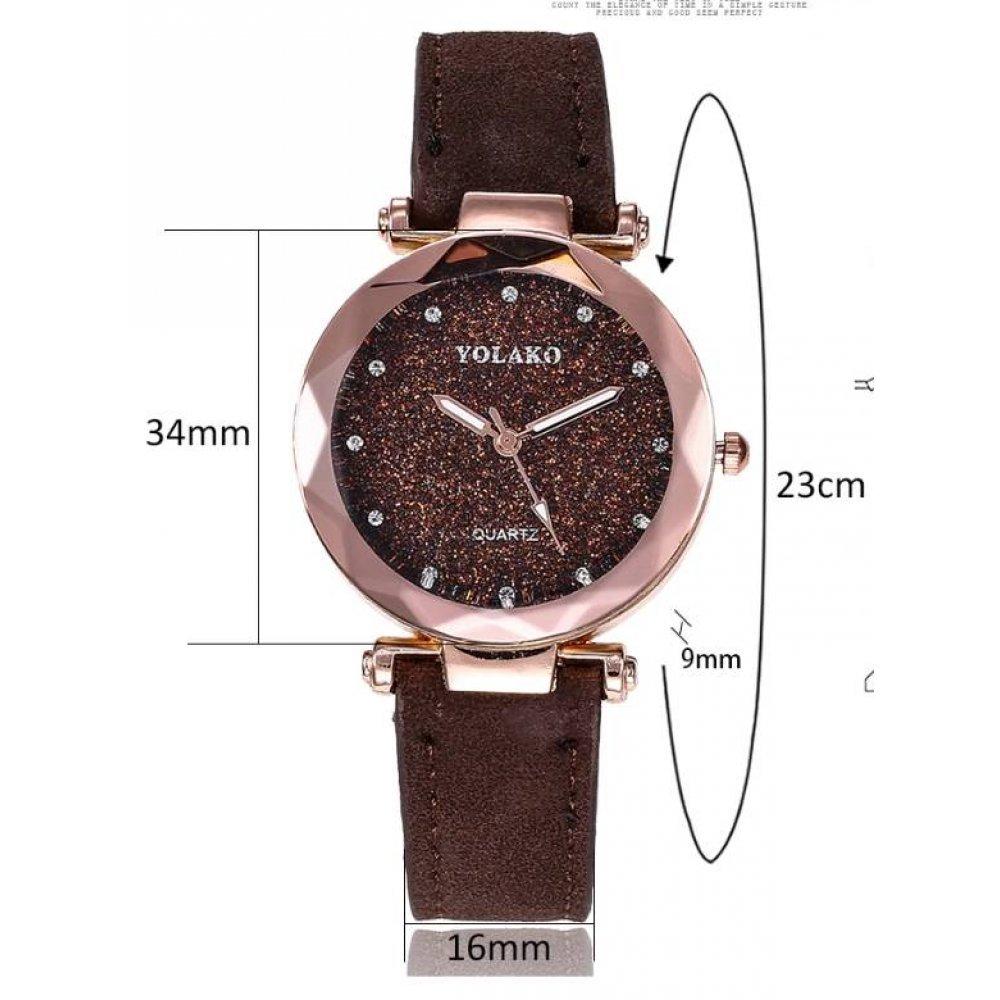Женские Часы наручные Vansvar, розовые 4897