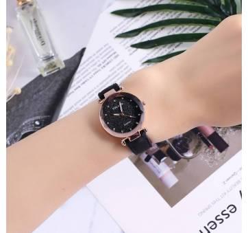 Женские Часы наручные Vansvar, черные 4899