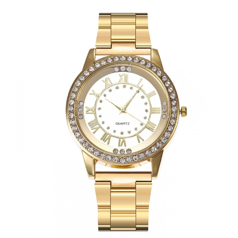 Женские Часы наручные Vansvar, золотистые 4934