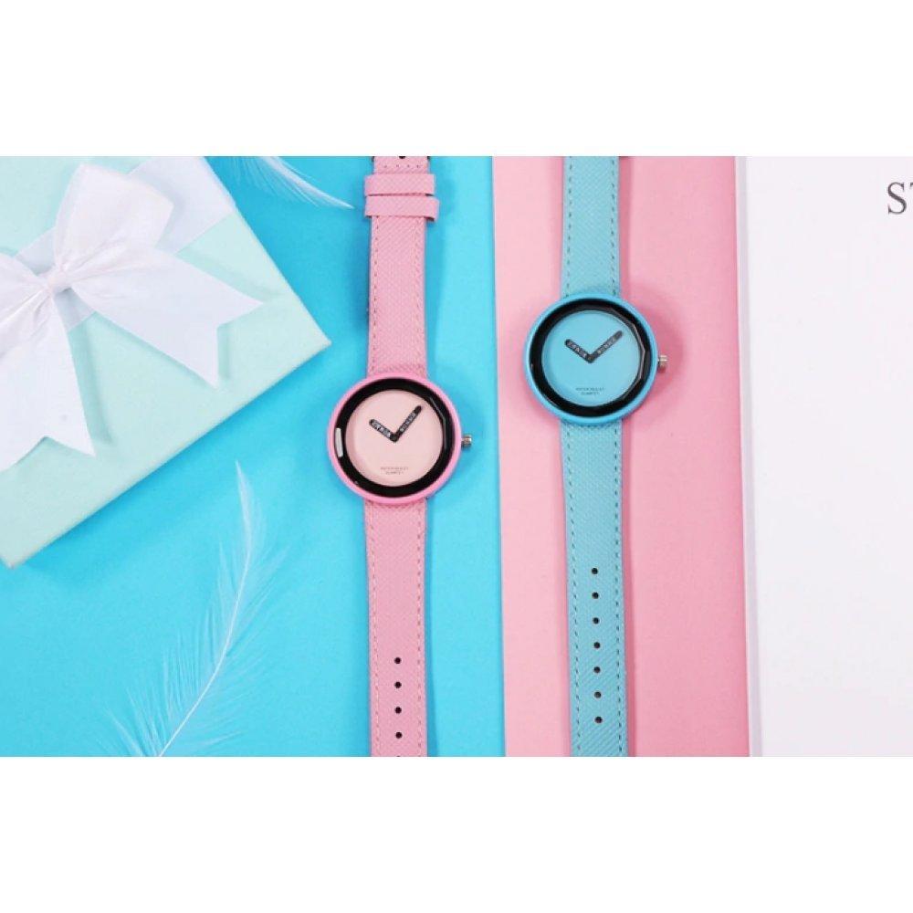 Женские Часы наручные WoMaGe, розовые 5154