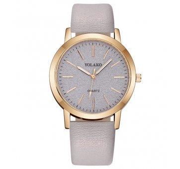 Женские Часы наручные Yolako, серые 5165
