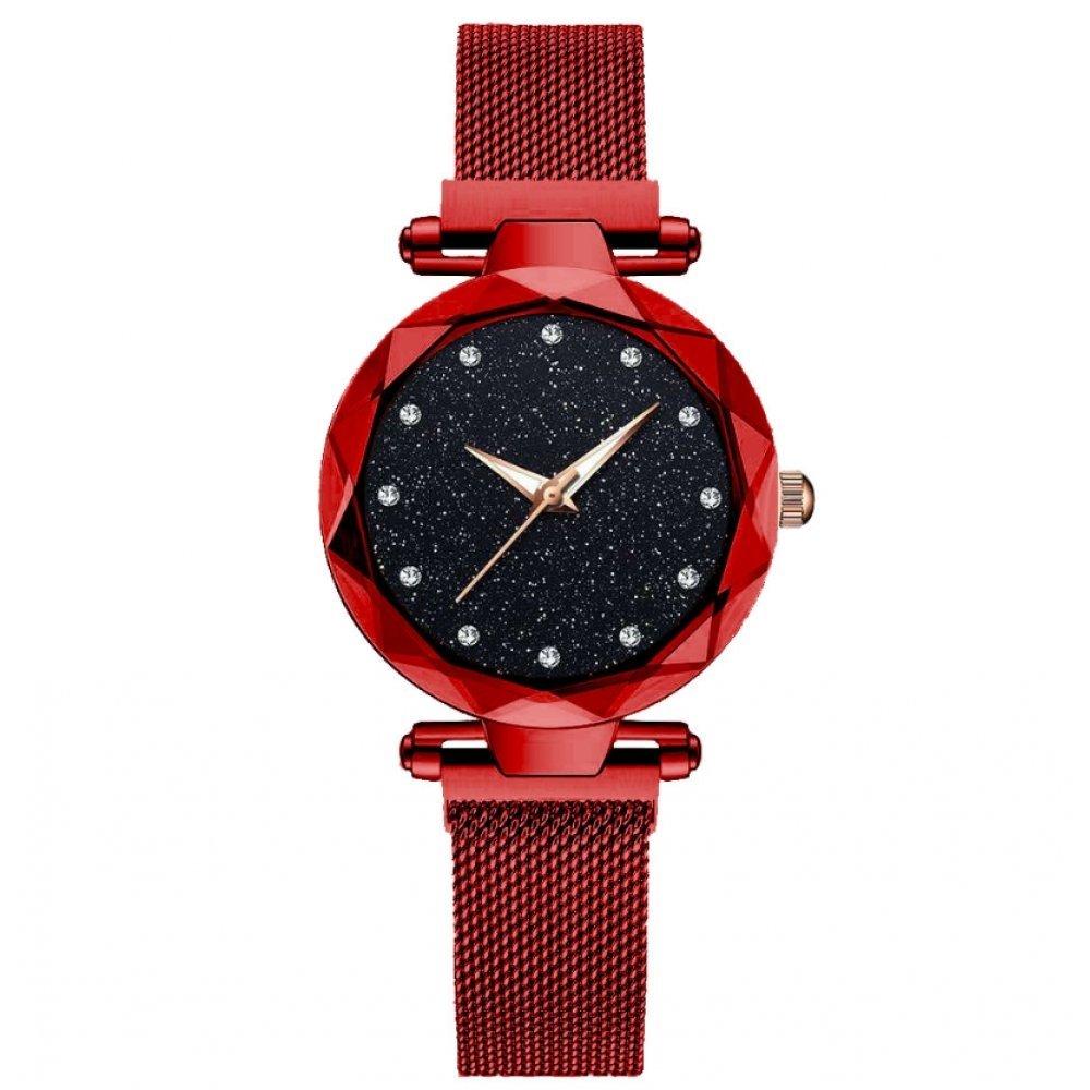 Женские Часы наручные Tephea, красные 5196