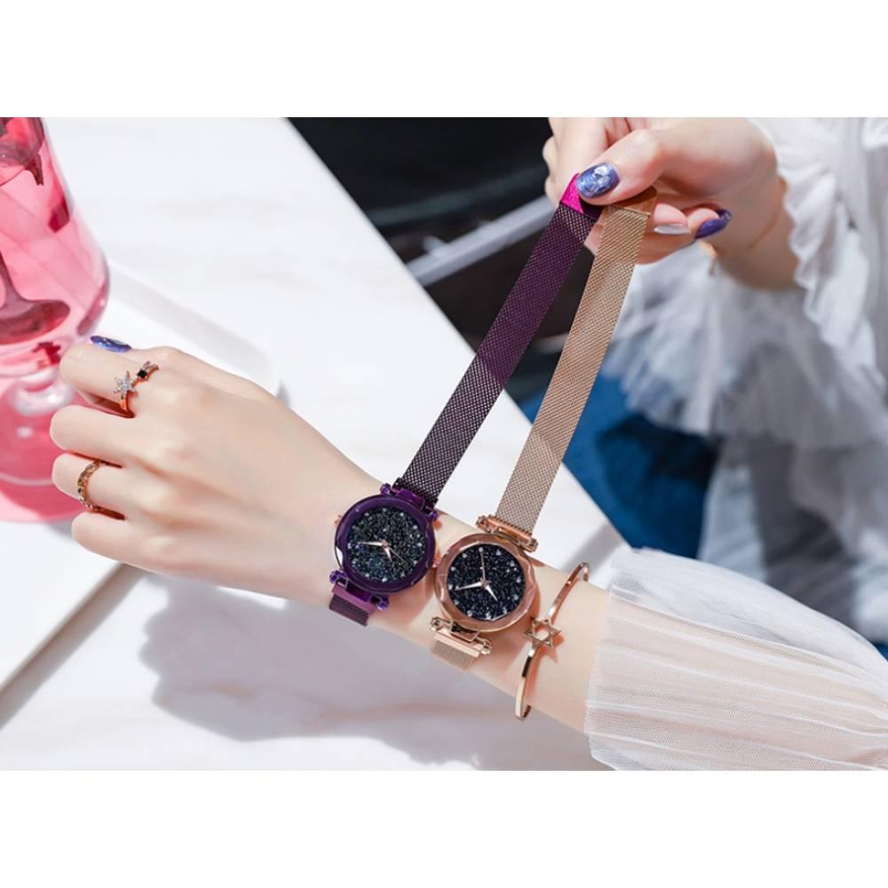Женские Часы наручные Tephea фиолетовые 5197