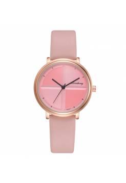 Женские часы Yuhao, розовые