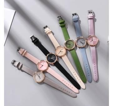 Женские Часы наручные Yuhao, розовые 5199
