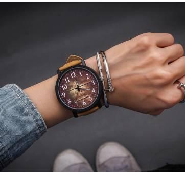 Женские Часы наручные JBRL, коричневые 5205