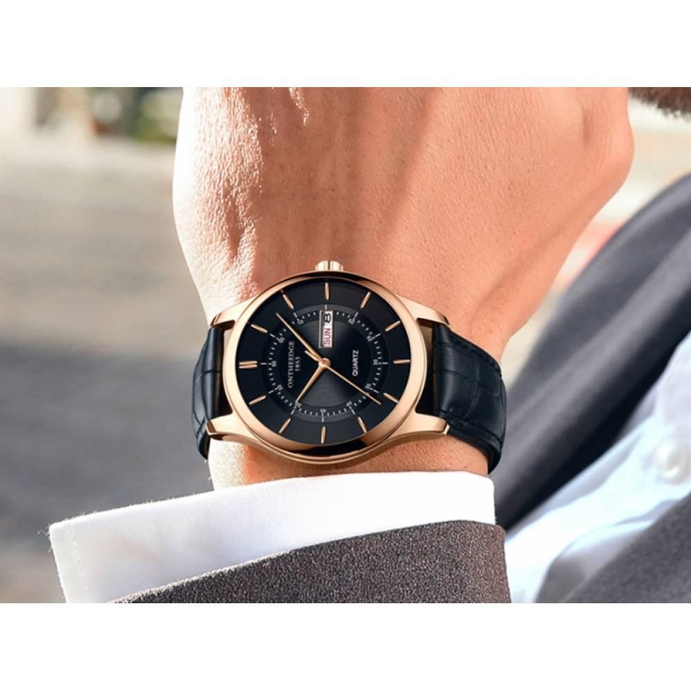 Мужские Часы наручные WYQ, черные 5208