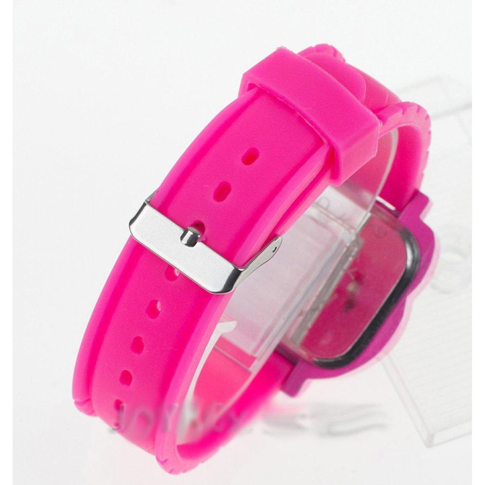 Детские Часы наручные, Hello Kitty, красные 5414