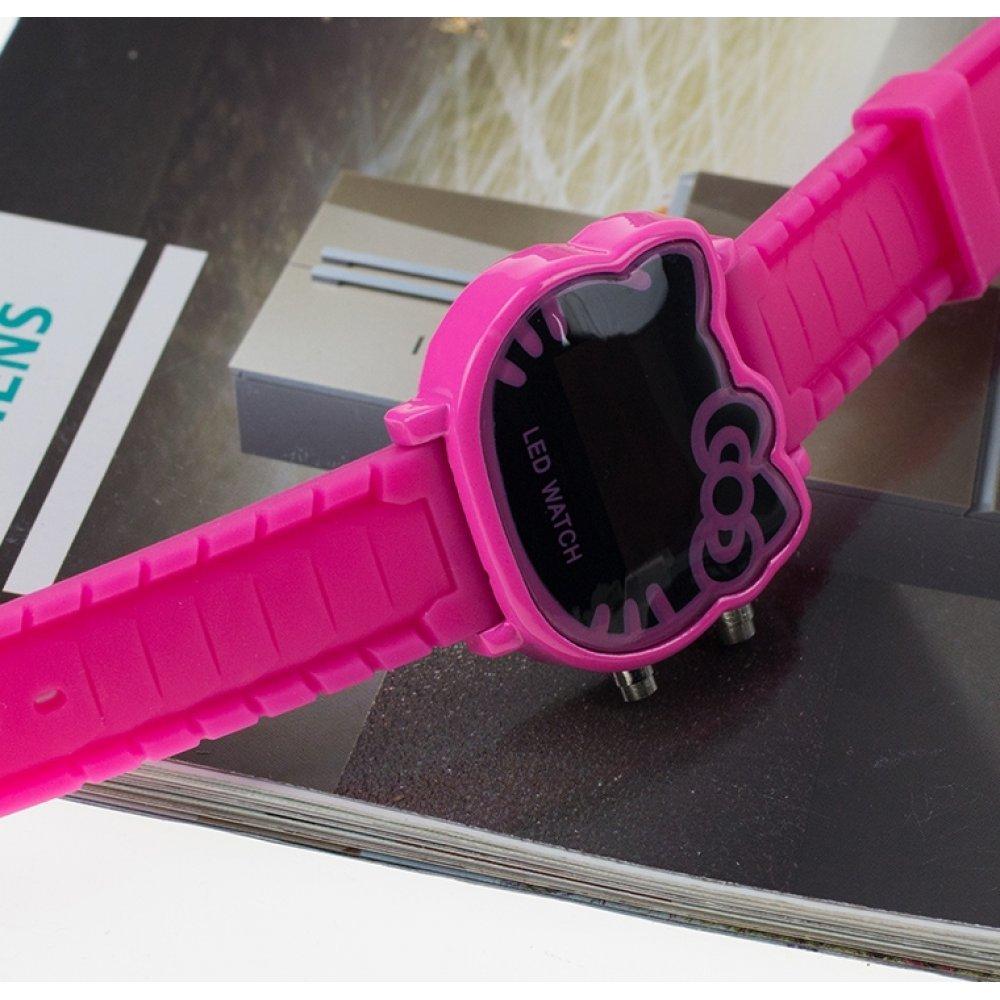 Детские Часы наручные, Hello Kitty, розовые 5415