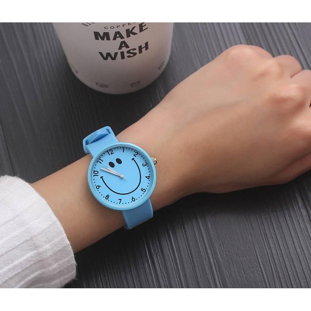 Женские Часы наручные JBRL, голубые 5564