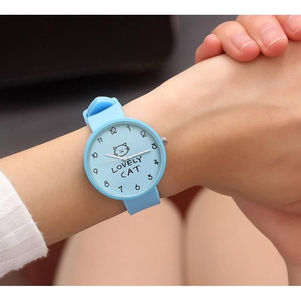 Женские Часы наручные JBRL, голубые 5567