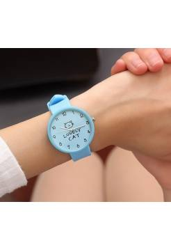 Женские часы JBRL, голубые