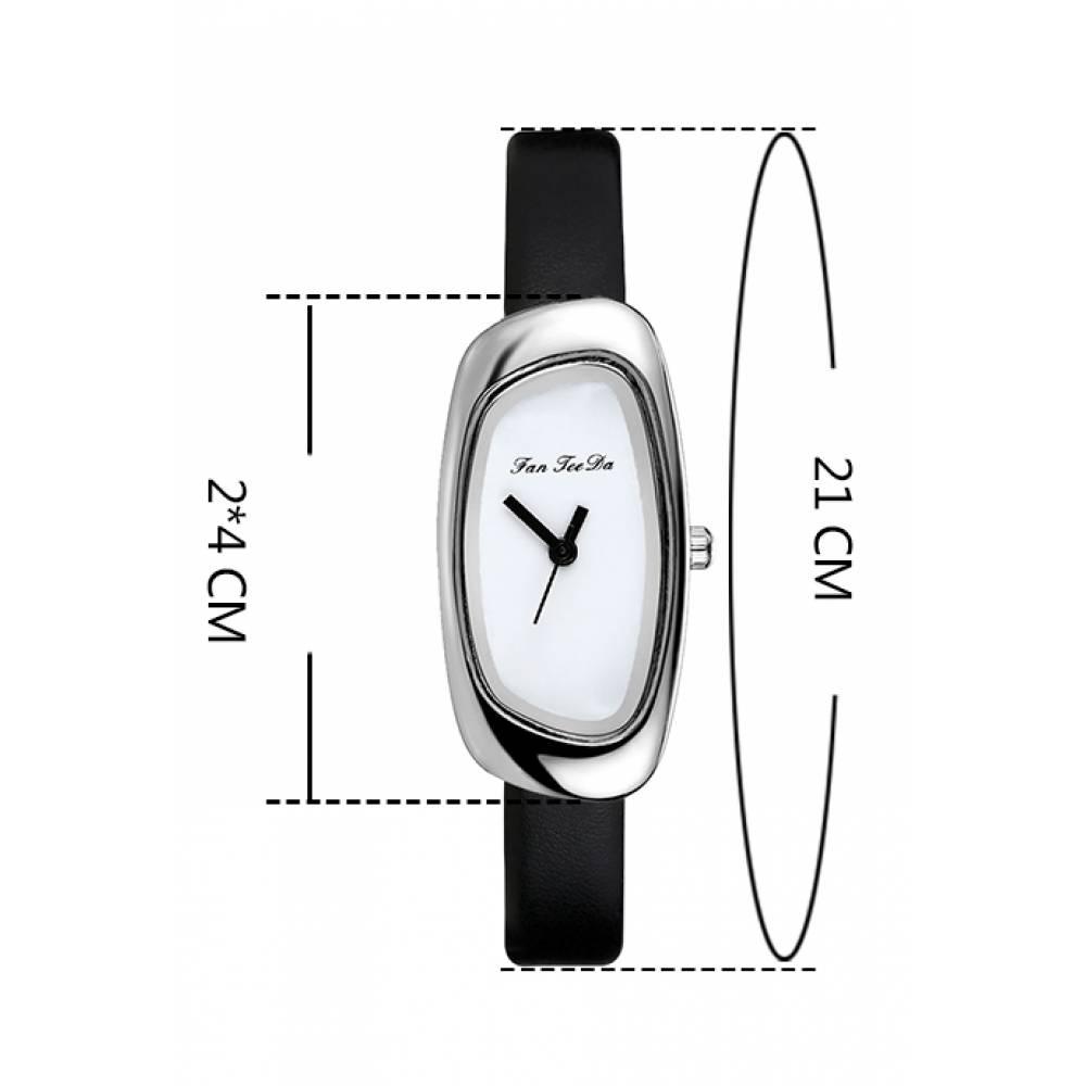 Женские Часы наручные FanTeeDa, коричневые 5587