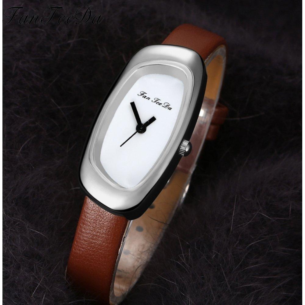 Женские Часы наручные FanTeeDa, розовые 5588