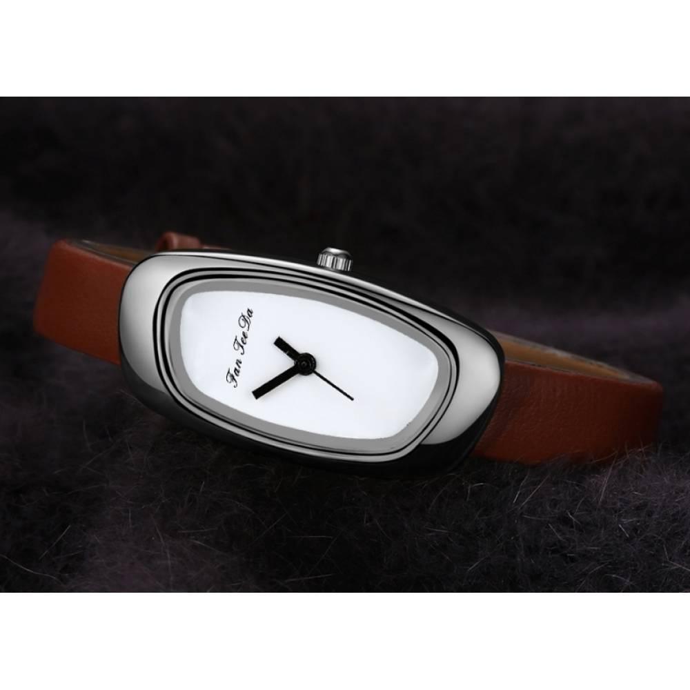 Женские Часы наручные FanTeeDa, белые 5590