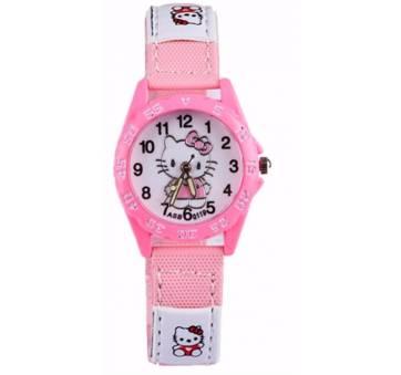 Детские Часы наручные Hello Kitty, розовые  5680