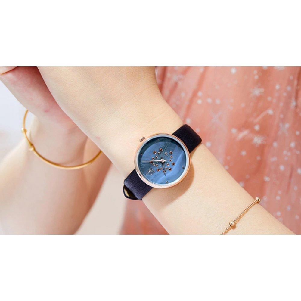 Женские Часы наручные SK, синие 5725