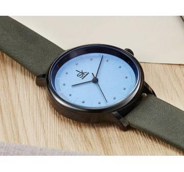 Женские Часы наручные SK, голубые 5726
