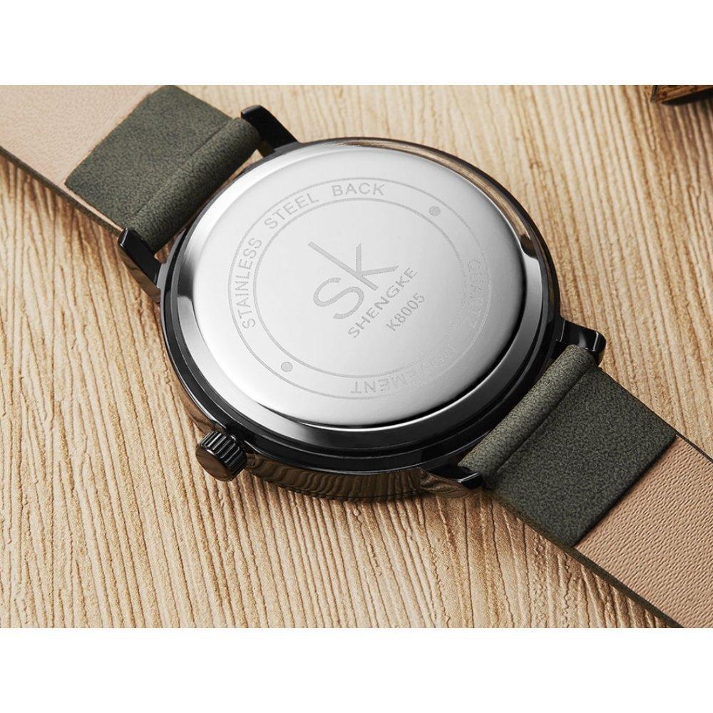 Женские Часы наручные SK, серые 5727