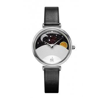 Женские Часы наручные SK, черные 5730